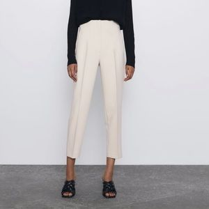 NEW Zara High Waisted Trousers